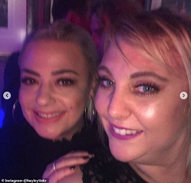 Smile:Delighted audience members took to social media to share photographs of the night, with one cosying up to The Strictly Come Dancing make-up artist for a cute selfie