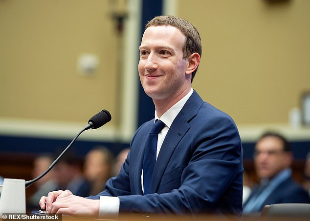 Mark Zuckerberg testifies before a meeting of the US House Committee on Energy and Commerce