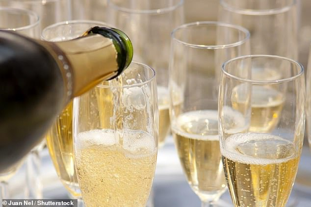 Essex could soon be home to bottles of British fizz to best their rivals from Champagne, experts say. East Anglia, particularly Essex and Suffolk, have the ideal conditions to produce consistent quality wines to beat the French at their own game, it's claimed (stock image)