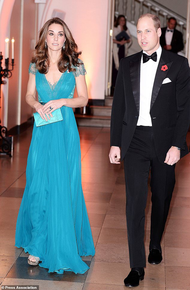 The Duke and Duchess of Cambridge participate in the Tusk Conservation Awards (Jeff Spicer / PA)