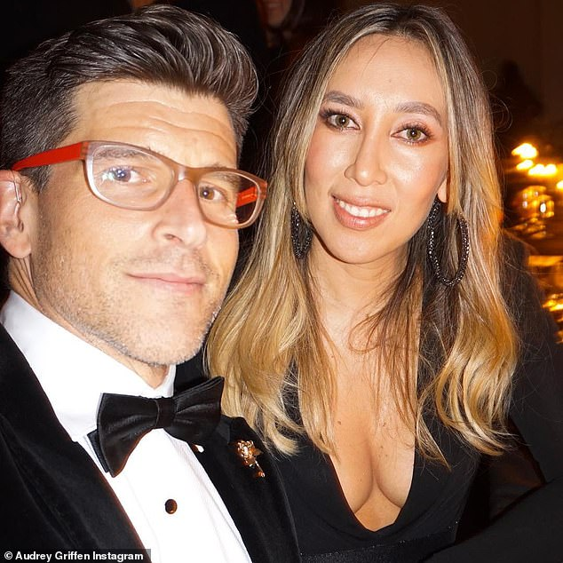 'I've never ever yelled at the TV so much before!': Even the show's makeup artist Audrey Griffen (right), who is married to host Osher Günsberg (left), called out Charlie's behaviour