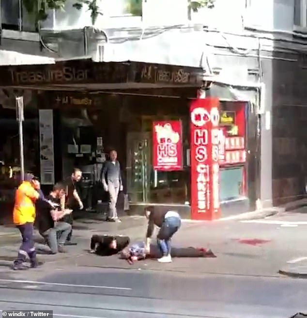5969746 6370829 Three people have been taken to hospital with varying injuries a m 23 1541746728779 - Melbourne imposes smoking ban in the city's shopping strip
