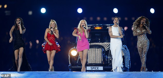 The Spice Girls performed for the last time at the closing ceremony of the London Olympic Games in 2012