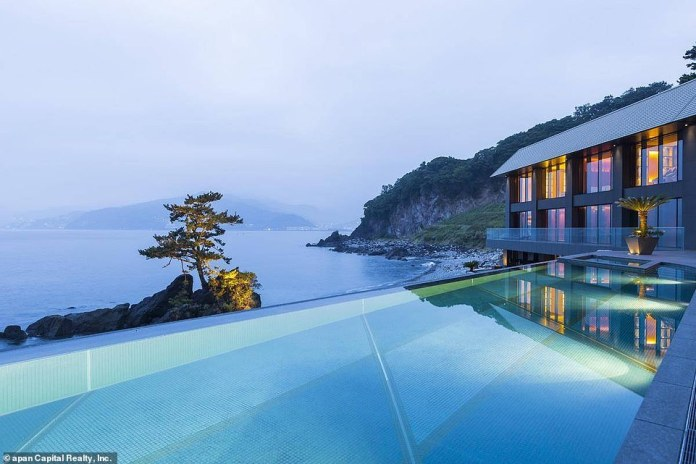 Rubin was also loaned $14 million in 2012 by Google to purchase a luxurious  seaside villa in Japan (shown)
