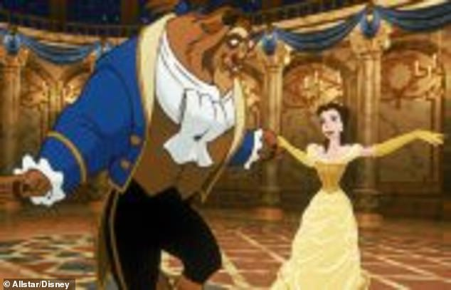 """Disney already has a service showing classic movies, animations and Pixar movies, """"Movies Anywhere"""". Here's a still from Beauty and the Beast"""