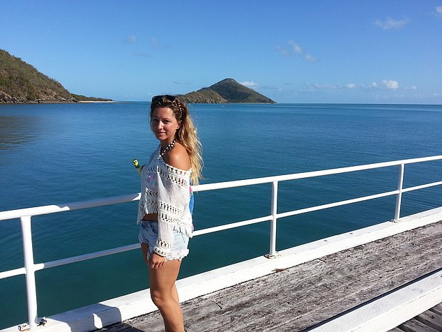 Miss Tierney had first travelled to Australia in 2014 with her boyfriend and returned a year later