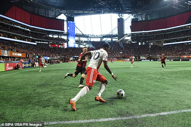 The atmosphere of Atlanta's home games is becoming famous for its color and noise
