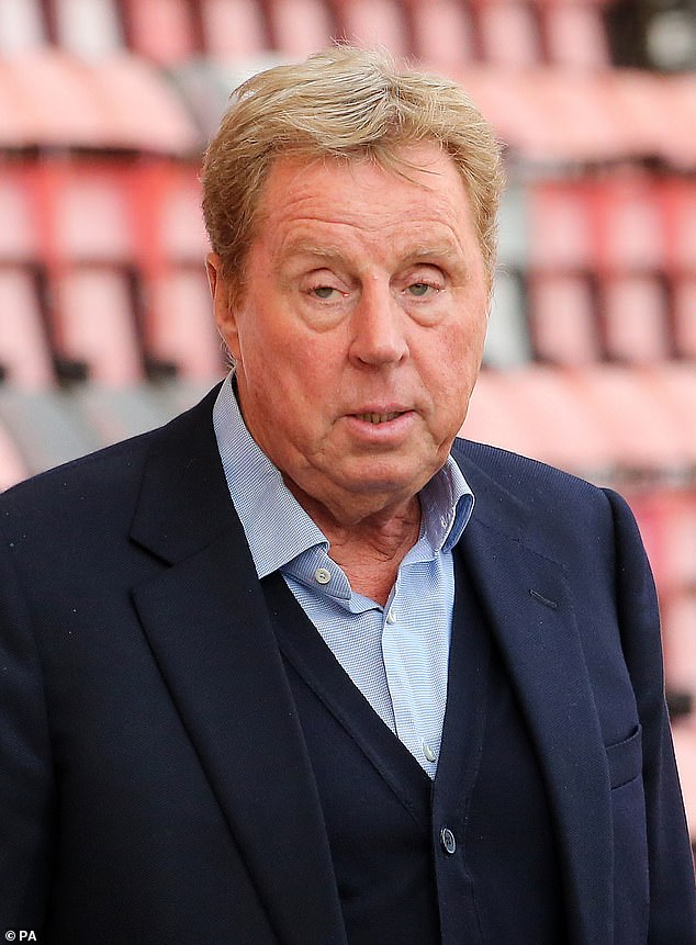 Star-studded: It has also been reported by The Sun that Rita Simons, Fleur East, Nick Knowles, James McVey, Anne Hegerty, Sair Khan and Malique Thompson-Dwyer (Harry Redknapp pictured earlier this month)