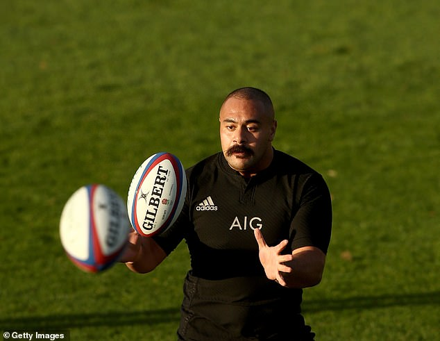 The ex-bouncer Karl Tu inukuafe has some big boots to be filled in melting in place of Joe Moody