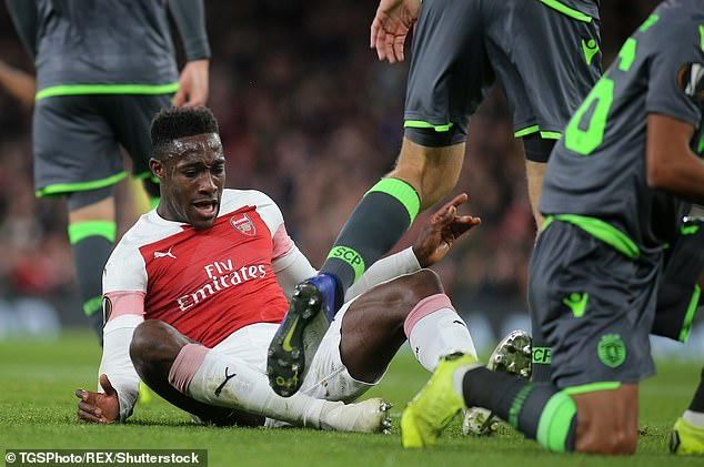 It is feared that Welbeck suffered a rupture, dislocation and damage to the ligaments