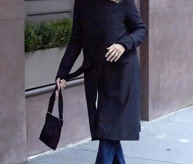 Happy As A Clam Meg Ryan Was Spotted Out And About In New York City