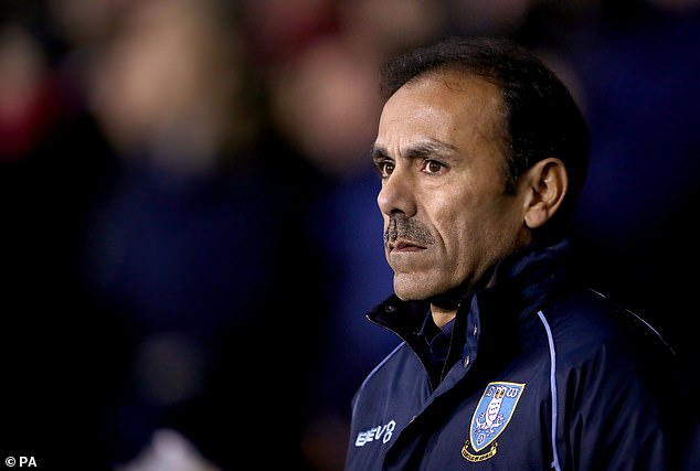 Sheffield's Wednesday manager, Jos Luhukay, observes how his team has frustrated rivals