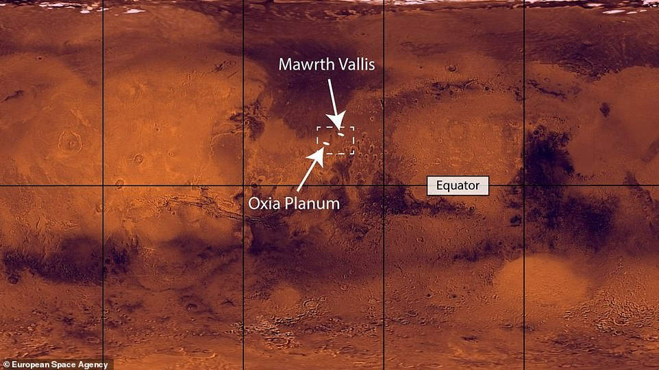 Researchers have been looking into two candidate sites - Oxia Planum and Mawrth Vallis - for the ESA-Roscosmos ExoMars rover. Both sites are rich with evidence of Mars' watery past, and sit north of the equator