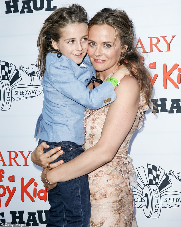 Throwback to 2017: Alicia Silverstone says her seven-year-old son Bear has never needed medicine, thanks to the benefits of his veganism