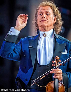 You will be joined byAndre Rieu (above)