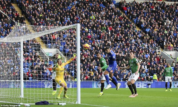 Callum Paterson scored Cardiff's equalizer from a close range just before half-hour