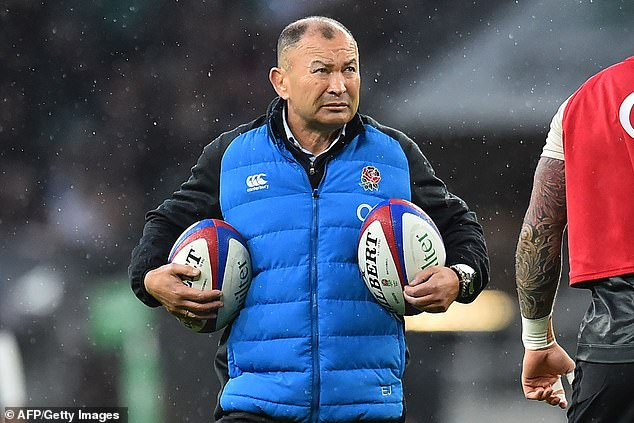 England may have lost to New Zealand, but Jones's team had a chance to win the game