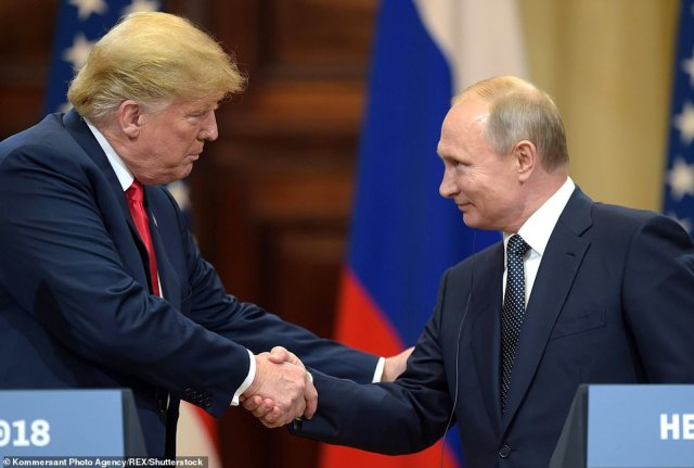 Trump will see Russia's Vladimir Putin in Paris but they'll wait until the G20 summit to hold a formal meeting in Argentina