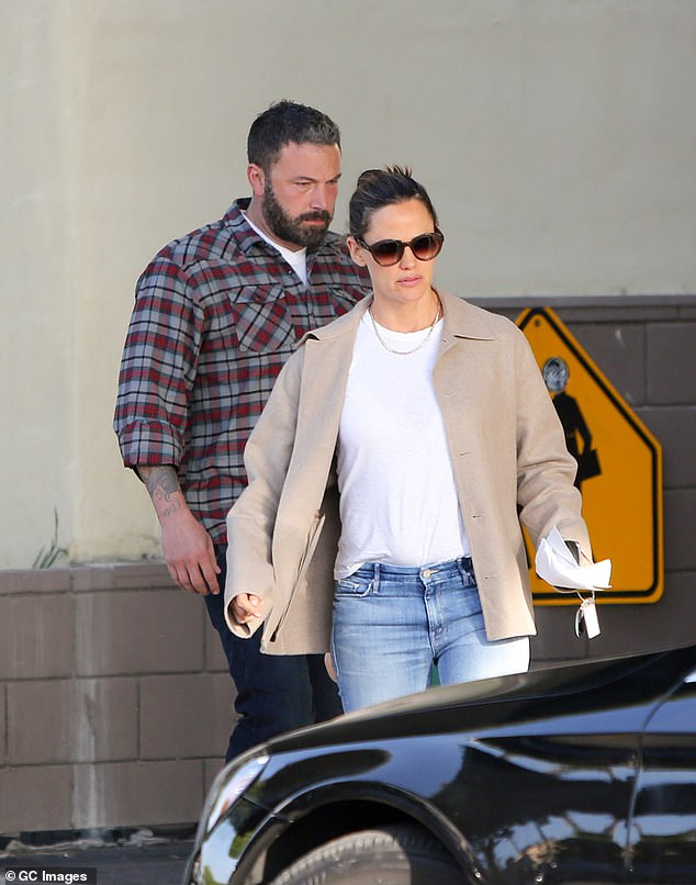 The end:It comes as the Good Will Hunting star finalised his divorce with Jennifer Garner, 46, who he shares children Violet, 12, Seraphina, nine, and Samuel, six with