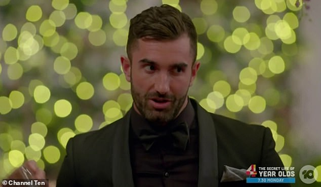 'Good luck to whoever ends up with Ali':Bill's revelation also comes after Taite all but confirmed to OK! magazine last week that he doesn't win the show. The Melbourne-based TV star said he has absolutely no interest in moving to Ali's hometown of Adelaide to be with her, saying South Australia 'doesn't do it for me'
