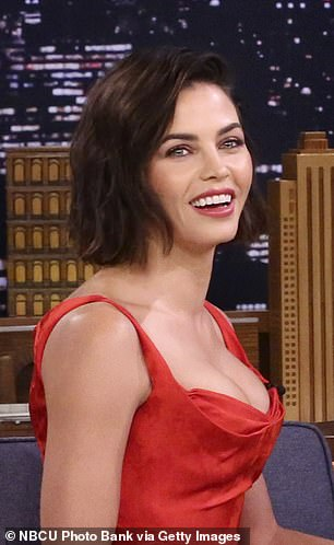 Separated at birth: Jessie shares a striking resemblance to Channing'sex-wife Jenna Dewan