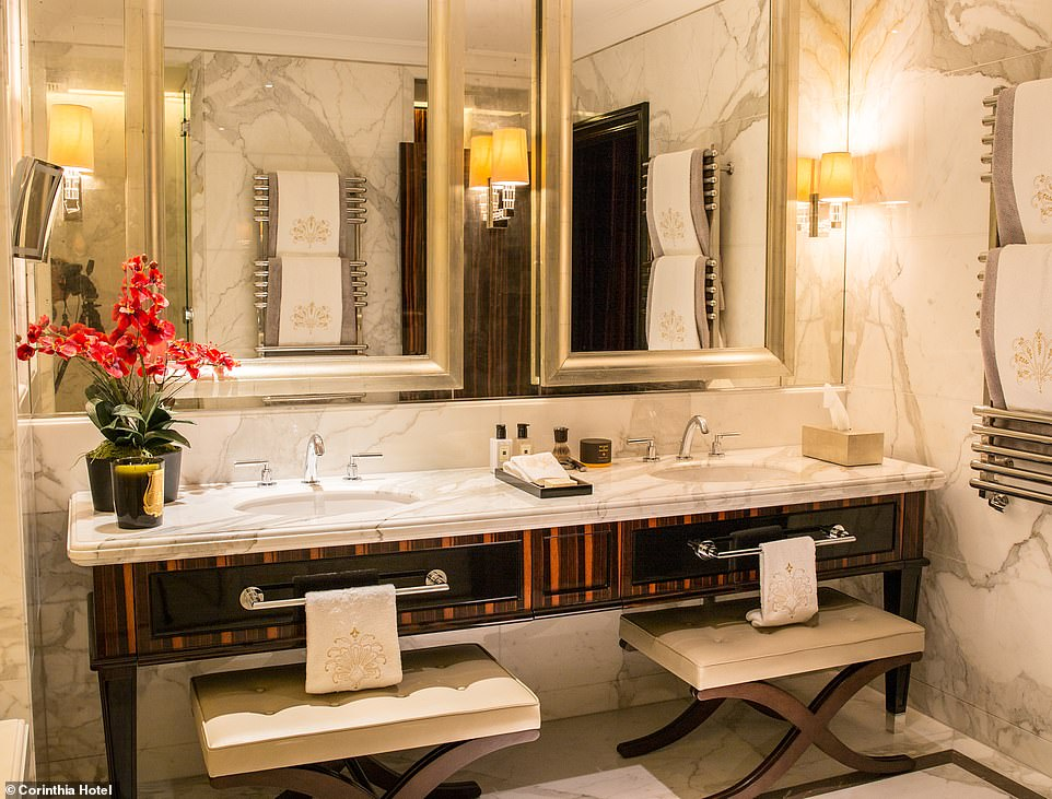 Four Bedroom Penthouse Suite In A Luxury London Hotel Goes