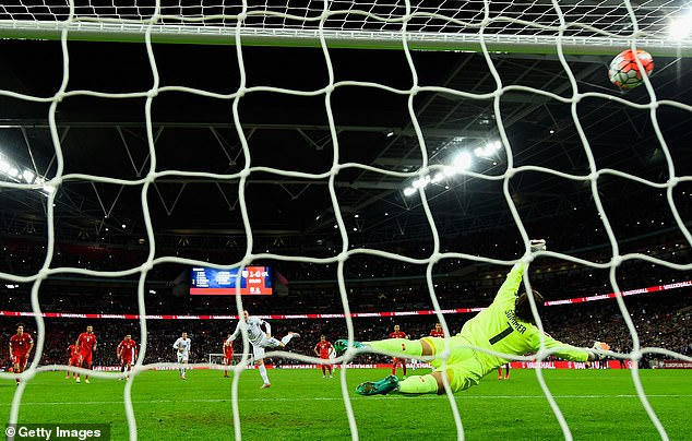Rooney scored his 50th goal for England against Switzerland to become the top scorer