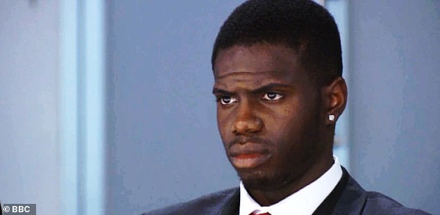 Fuming! Kayode Damali has been fired from The Apprentice - and he is not happy about it