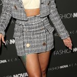 Cardi B's Style for fashion launch in Hollywood