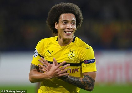 Axel Witsel Raves About Life At Bundesliga High-flyers Borussia Dortmund |  Daily Mail Online