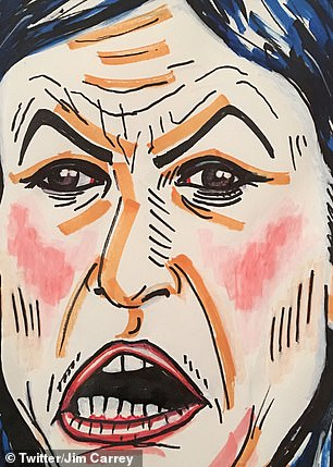 Carrey has also painted unflattering pictures of Sarah Sanders