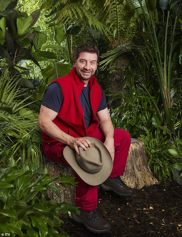 Big earner: Nick Knowles is allegedly being paid around £200,000 to enter the jungle, as bosses were believed to have raised his fee in a bid to get the DIY SOS frontman to sign up