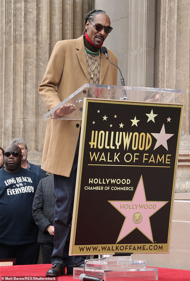 That's That: Snoop was recently honored by the Hollywood Chamber of Commerce, with the star running businesses in the world of cannabis, fashion, food and merchandise