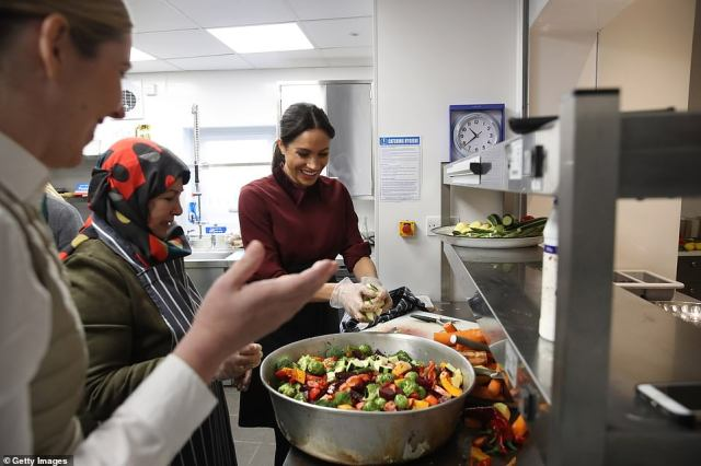 Those involved have also been able to obtain food hygiene qualifications and been empowered to start their own projects