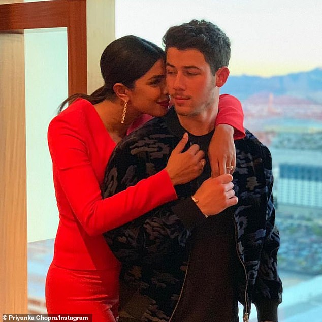 In love! The Jonas Bro popped the question on Priyanka's 36th birthday in London