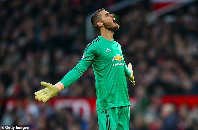 David de Gea had a perfect goal in his 250th Premier League game for Manchester United