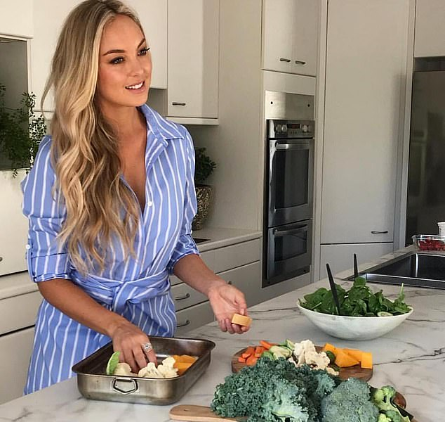 Jessica recommends swapping kale chips and home-made dips for salt-laden chips and overly-flavoured dips