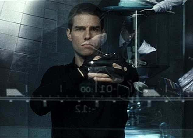 Based on a novel by science fiction writer Philip K. Dick, Minority Report, starring Tom Cruise (pictured) is a thriller set in 2054 when police use psychic technology to arrest and convict people before they commit crimes