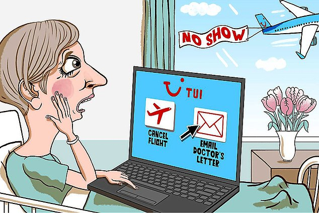 Holiday hell: One reader was left in limbo when she was forced to cancel a holiday she'd booked with TUI due to illness