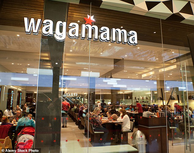 Deal: Just over 60 per cent of Restaurant Group's investors voted in favour of the deal to buy Wagamama
