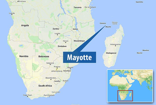 The strange waves were traced to an origin roughly 15 miles (24 kilometres) off of the French island, Mayotte