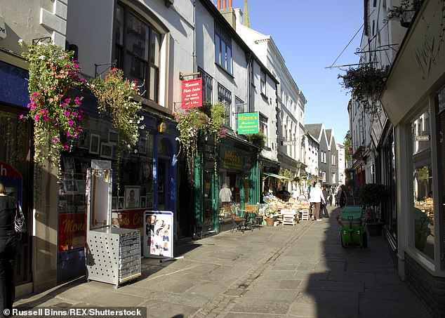 Monmouth in Wales is ranked as the third-happiest place to live in Britain