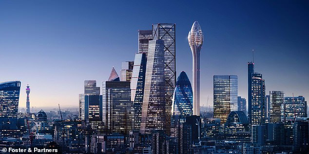 According to technical experts the radar will interfere with radar systems at the airport six miles to the east, officials told the authority considering whether to grant planning permission.It is more than twice the height of the London Eye, the next-tallest moving visitor attraction in the capital