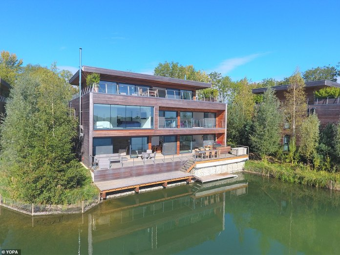 The sale of the £3million home on The Lakes by Yoo private estate is being handled by Yopa