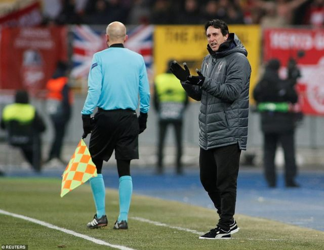 Unai Emery's side made very light work of Vorskla in the Europa League ahead of Sunday's North London derby