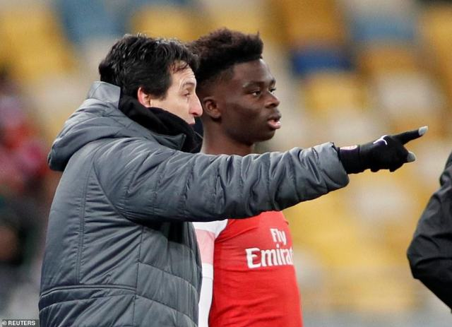 Bukayo Saka, Zech Medley and Charlie Gilmour were all given their senior Arsenal debuts with the result beyond doubt