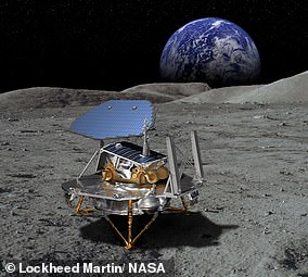 Lockheed Martin named its lunar lander after late NASA astronaut, Bruce McCandless