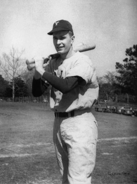 George H W Bush Yale Baseball Team