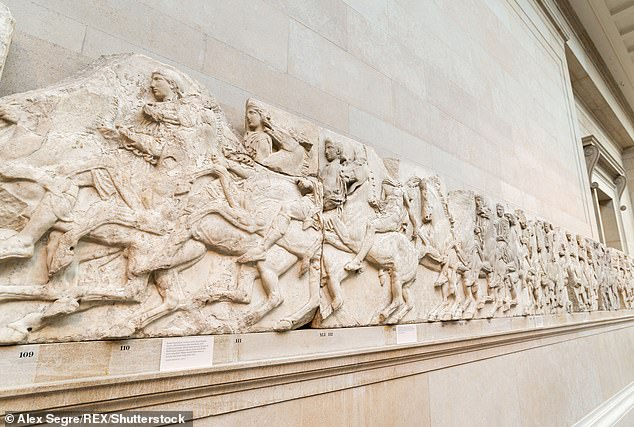 Lord Charles Bruce said the Elgin Marbles, now on display in the British Museum, were handed by a Turkish sultan to his forebear Thomas Bruce, the seventh Earl of Elgin