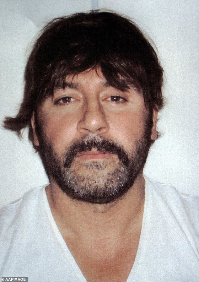 Informer 3838 helped convict figures like Tony Mokbel (pictured with his wig disguise) and Pat Barbaro and tilted the game in the notorious Melbourne gangland wars